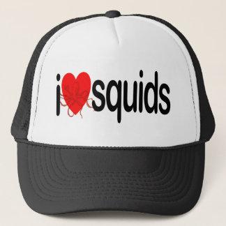 I Love Squids Trucker Hat