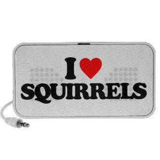 I LOVE SQUIRRELS MINI SPEAKER