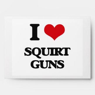 I love Squirt Guns Envelopes