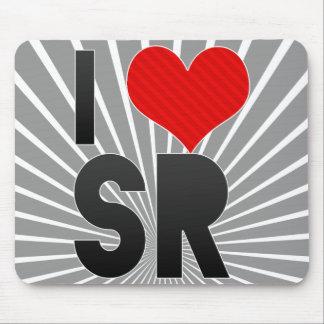I Love SR Mouse Pad