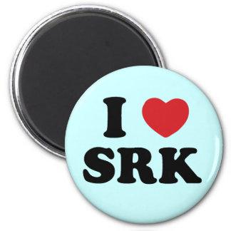 I love SRK 2 Inch Round Magnet