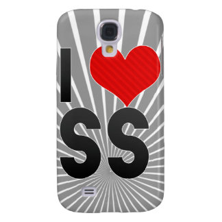 I Love SS Galaxy S4 Cases