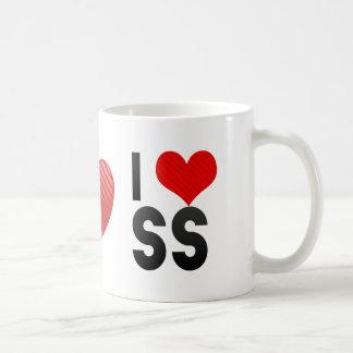 I Love SS Classic White Coffee Mug