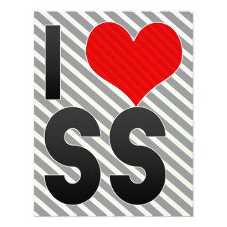I Love SS Invitation