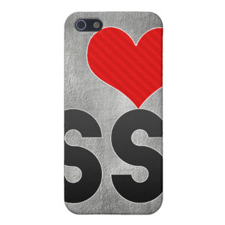 I Love SS iPhone 5 Case