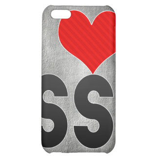 I Love SS iPhone 5C Cases