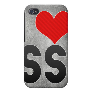 I Love SS iPhone 4/4S Cover