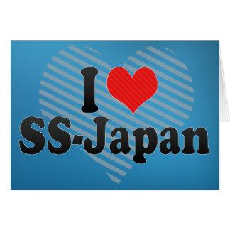 I Love SS-Japan Card
