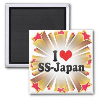 I Love SS-Japan Fridge Magnet