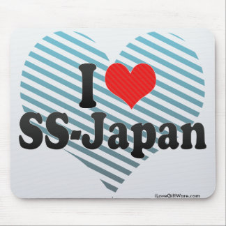 I Love SS-Japan Mouse Pads