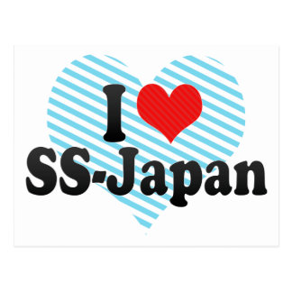 I Love SS-Japan Post Cards