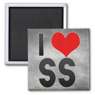 I Love SS Fridge Magnet