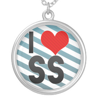 I Love SS Necklaces
