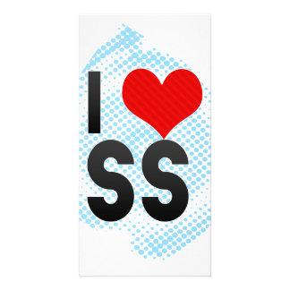 I Love SS Photo Greeting Card