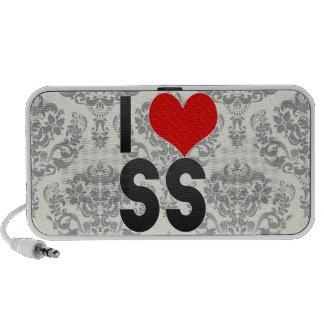 I Love SS Portable Speaker