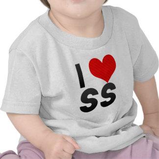I Love SS Tee Shirt