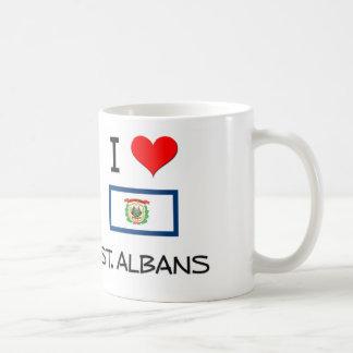 I Love St. Albans West Virginia Classic White Coffee Mug