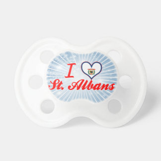 I Love St.Albans, West Virginia Baby Pacifier