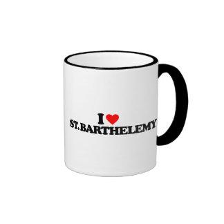I LOVE ST. BARTHELEMY COFFEE MUG