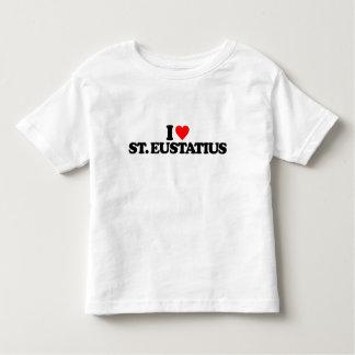 I LOVE ST. EUSTATIUS TODDLER T-SHIRT