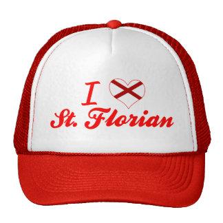 I Love St  Florian, Alabama Hats