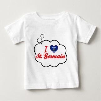 I Love St. Germain, Wisconsin Tee Shirt