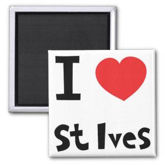 I love st Ives Magnet