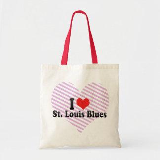 I Love St. Louis Blues Tote Bag