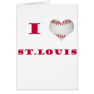 I Love St. Louis Card