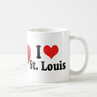 I Love St. Louis Coffee Mug