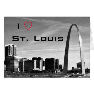 I Love St. Louis Greeting Card