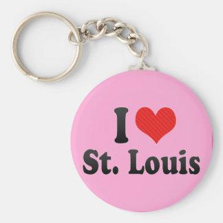 I Love St. Louis Key Chains