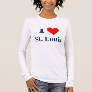 I Love St. Louis Long Sleeve T-Shirt