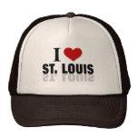 I Love St Louis Mesh Hats