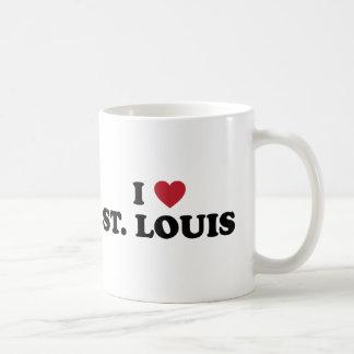 I Love St. Louis Missouri Classic White Coffee Mug