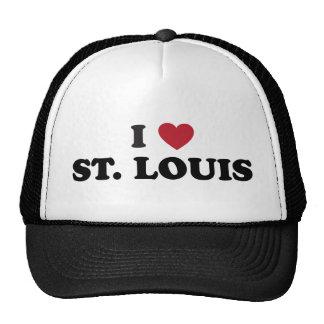 I Love St. Louis Missouri Hat