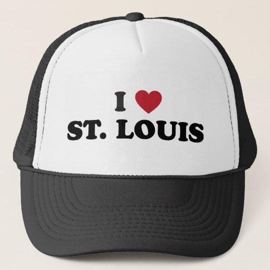 I Love St. Louis Missouri Trucker Hat