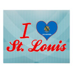 I Love St. Louis, Oklahoma Posters