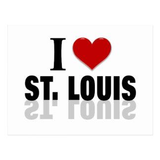 I Love St Louis Postcard