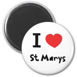 I love St Marys, Isles of Scilly Magnet