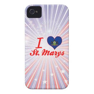 I Love St. Marys, Pennsylvania iPhone 4 Covers