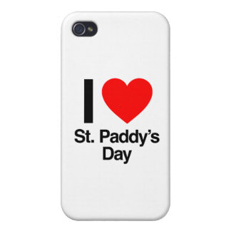 i love st. paddy's day cases for iPhone 4