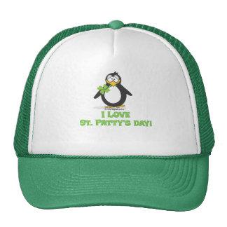 I Love St Patty's Day Trucker Hat