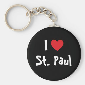 I Love St. Paul Keychain