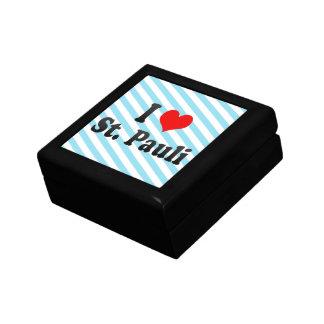 I Love St Pauli Germany Jewelry Boxes