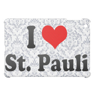 I Love St Pauli Germany iPad Mini Case