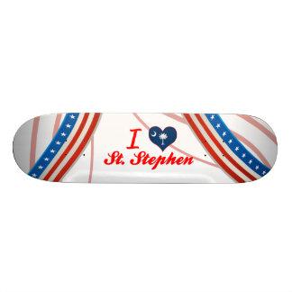 I Love St. Stephen, South Carolina Skateboard Decks