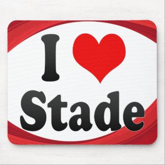 I Love Stade Germany Ich Liebe Stade Germany Mousepads