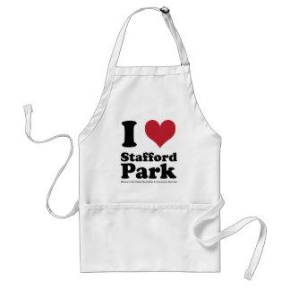I LOVE Stafford Park Aprons