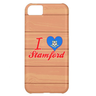 I Love Stamford, Connecticut Cover For iPhone 5C